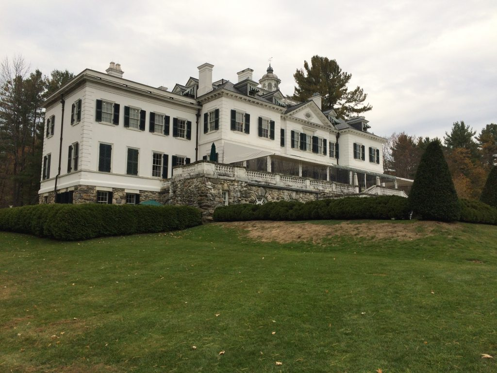 Edith Wharton - The Mount in Lenox, Massachusetts
