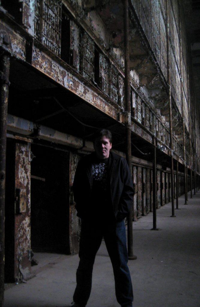 Jeff inside Mansfield Reformatory in Ohio.
