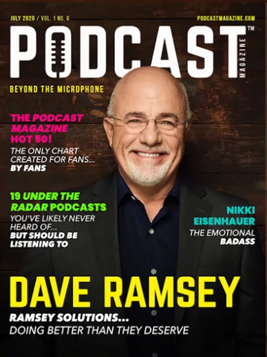 New England Legends was named to Podcast Magazine's Hot 50 Podcasts in their July 2020 issue.
