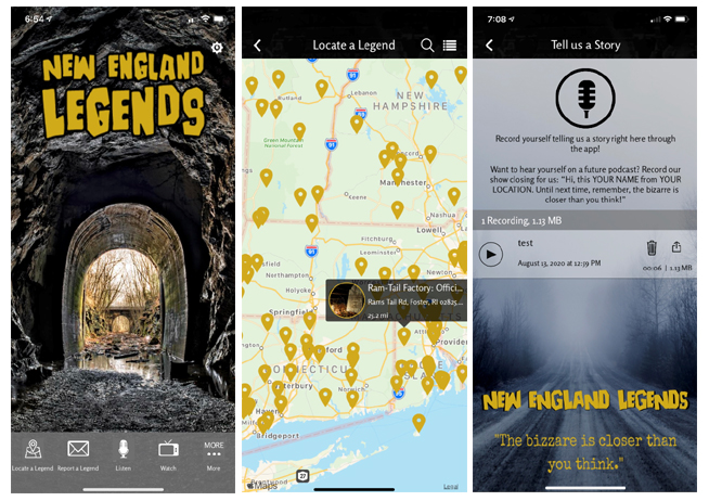 The New England Legends mobile app is now available on the Google Play and Apple App Stores.