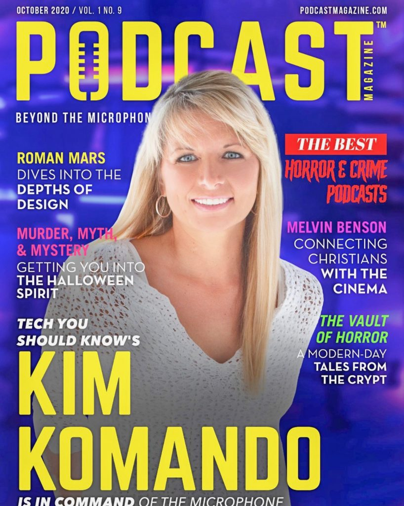Podcast Magazine October 2020 - Best Horror and True Crime Podcasts