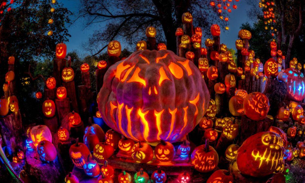 Jack-o-Lanterns photo by Frank Grace