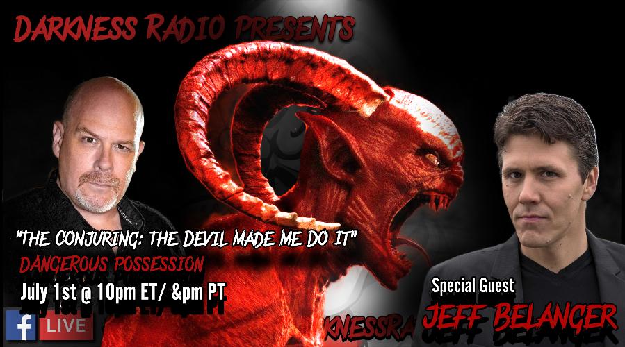 Darkness Radio live stream interview with Dave Schrader