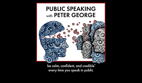 Public Speaking with Peter George.